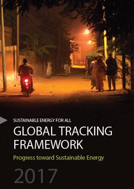 Global Tracking Framework 2017 - Progress Toward Sustainable Energy