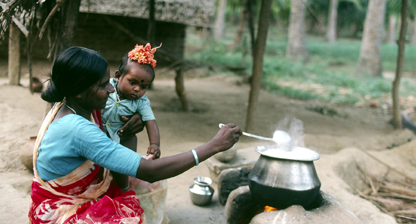 Cookstove in India
