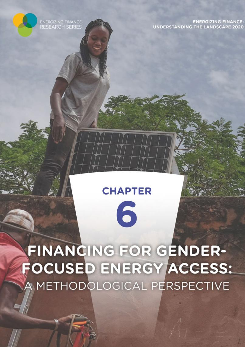 Energizing Finance Gender cover